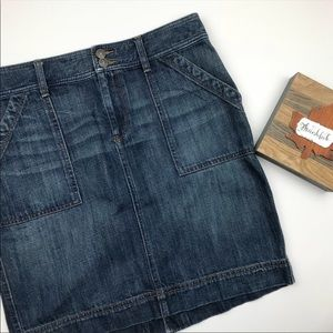 LOFT denim skirt size 6